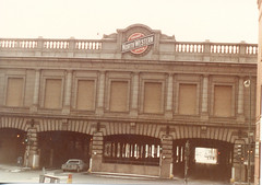 Chicago's NorthWestern Station. (Gone.) January 1984.