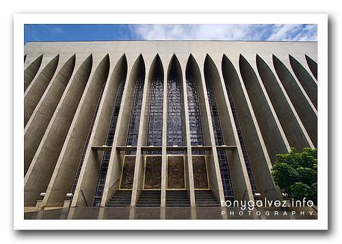 Brasilia wonders: Santuário dom Bosco