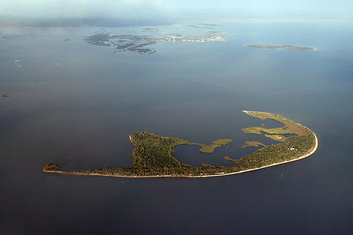 Seahorse Key with George T. Lewis Airport, Cedar Key, and Atsena Otie