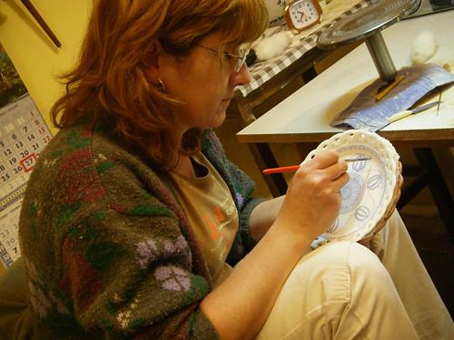 painter demonstration
