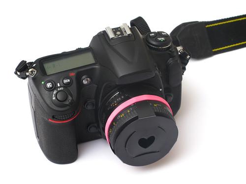 Bokeh Mastesr Kit mount on lens (by udijw)