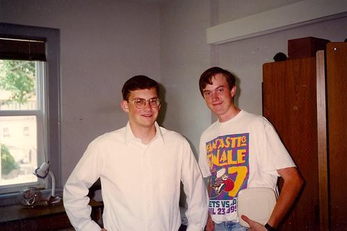 Tim and Erik