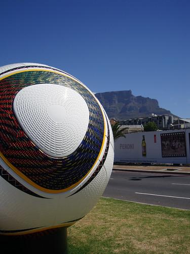 Der Ball ist Rund, auch in Südafrika
