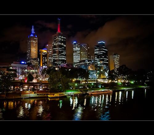 Melbourne from Princes Bridge