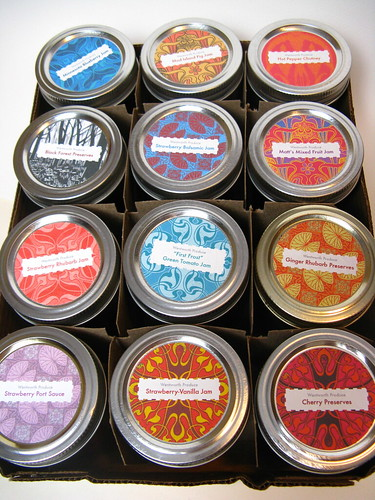 Canned Goods with Labels