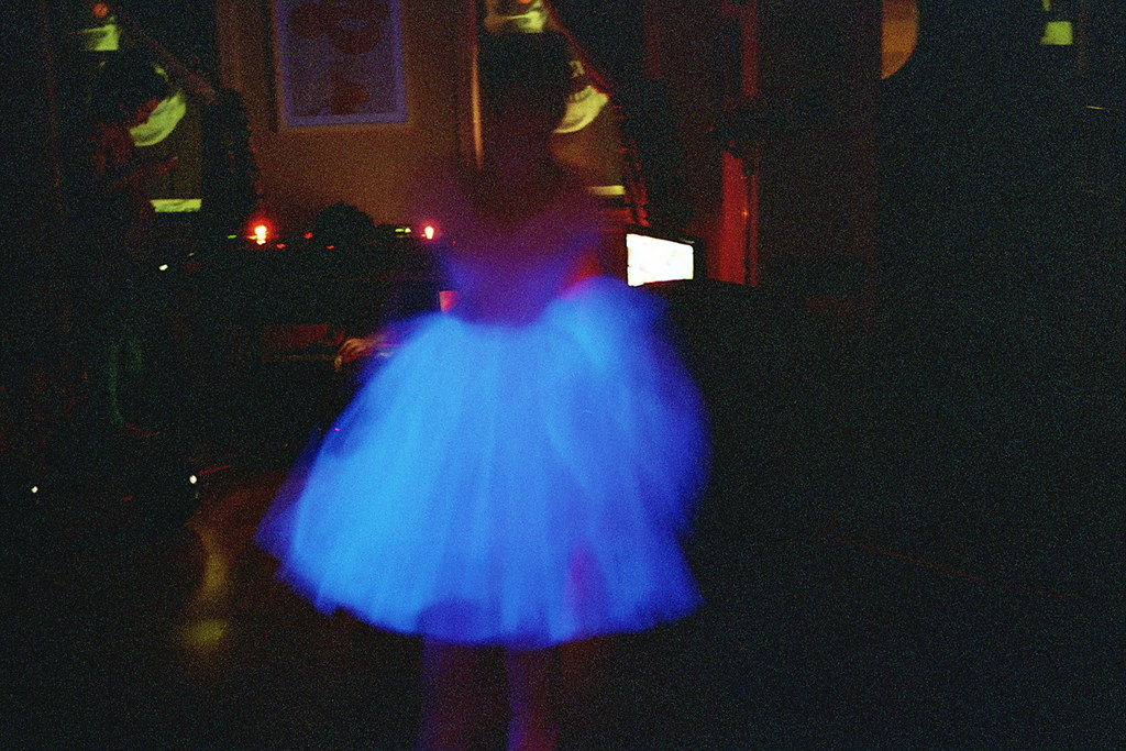 she glows