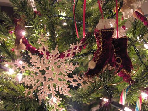 Skates & Snowflake Ornaments
