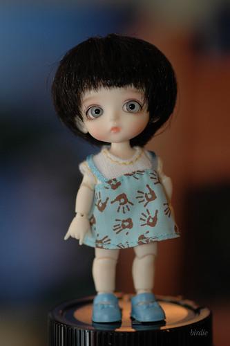Obitsu wigs, reasonably good fit for tiny BJDs 4200392260_512e5b8419