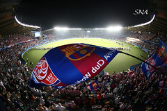 Viva Barca! (Sadeq Nader Abul) Tags: world barcelona city cup sports sport club football stadium fifa soccer uae 2009 nader   sadeq zayid   abul