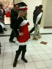 My Christmas outfit!!!! My sisters are embarrassed. (ijustine) Tags: mobile blog boots iphone christmasoutfit justineezarik ijustine iphonephoto takenwithaniphone hookapose