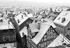 Snow on old Roofs (Tobi_2008) Tags: city schnee bw snow germany deutschland town hessen searchthebest roofs stadt schwarzweiss allemagne soe marburg germania dächer supershot bej fineartphotos platinumphoto anawesomeshot diamondclassphotographer flickrdiamond