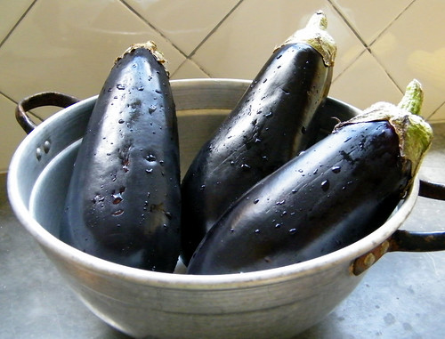 Eggplants | Berenjenas by katiemetz, on Flickr
