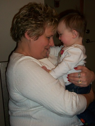 Aunt Deb and Hannie