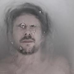 suspension of disbelief (Village9991) Tags: selfportrait man water look bath breath haird