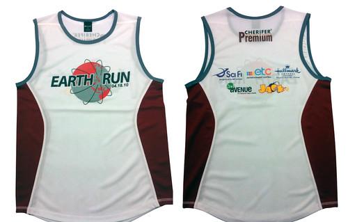 earth run 2010 - singlet