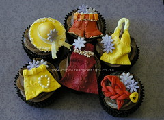Ursula's fashion cupcakes (Dot Klerck....) Tags: fashion southafrica chocolate capetown dot clothes cupcakesbydesign