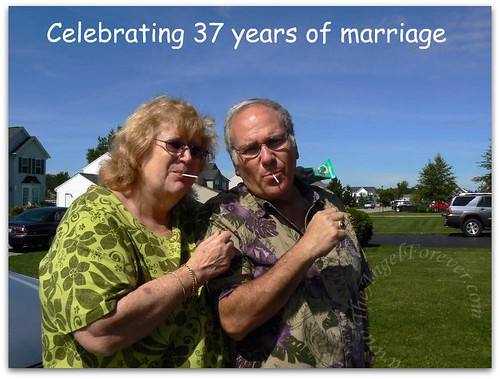 Nana & Papa - 37 years and going strong