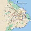 Red del subte de Buenos Aires como en New York (gac6479) Tags: new york de metro buenos aires
