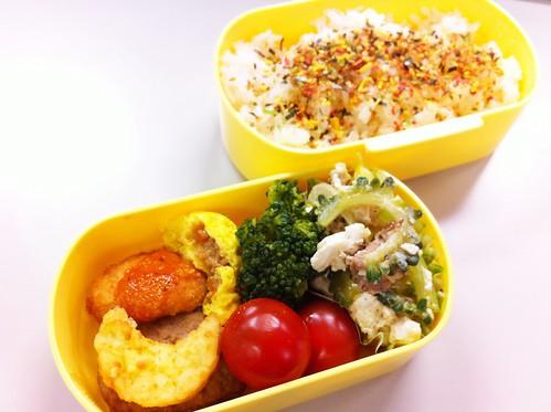 今日のお弁当 No.166 – 緑黄野菜