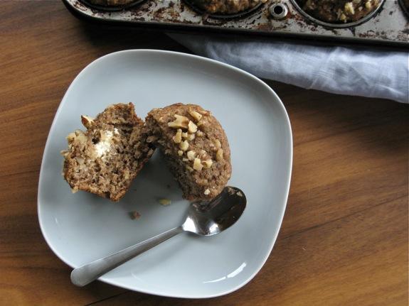 ricotta banana walnut muffins 002