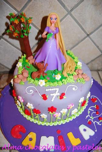 torta Rapunzel para Camila , originalmente cargada por