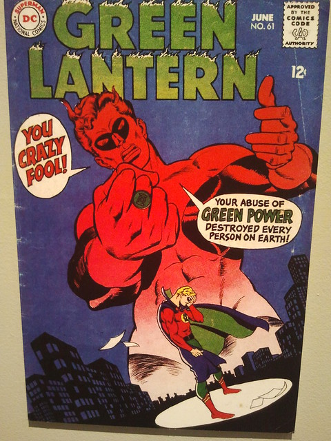 Green Lantern 61 cover by Gil Kane