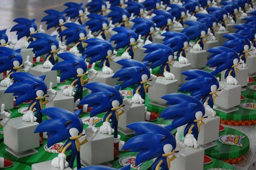 Making of the Sonic 20th Anniversary Figurine