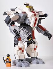 Ocelot (pinto4402) Tags: lego mechwarrior ocelot mech battletech ageofdestruction mediummech