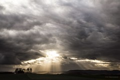 Heaven's Gate (Sauerland) (bernd obervossbeck) Tags: sky clouds landscape abend eveningsky sunrays dramaticsky landschaft sonnenstrahlen abendhimmel sunbeams eveninglight sauerland landscapephotography sonnenlicht hochsauerland wolkenlücke landschaftsfotografie dramatischerhimmel bestcapturesaoi mygearandme mygearandmepremium mygearandmebronze