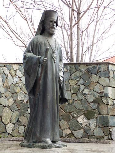 Pedoulas village - Makarios statue