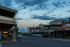 Full Moon Over Argent Street (Serendigity) Tags: outback mining street australia roadtrip fullmoon nsw brokenhill city newsouthwales dusk