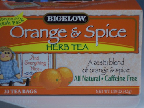 Bigelow orange and spice tea