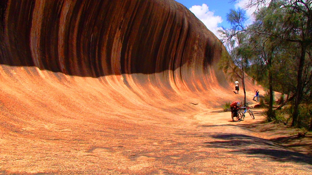 HYDEN WA WAVE ROCK WESTERN AUSTRALIA 281 by DON PUGH PERTH WESTERN AUSTRALIA, on Flickr