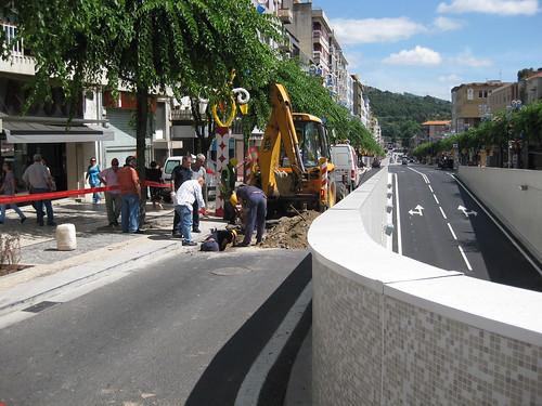 Obras na Nova Avenida da Liberdade, Braga