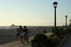 Bike Path and Pier (golembeski) Tags: thestrand hermosabeach manhattanbeachpier