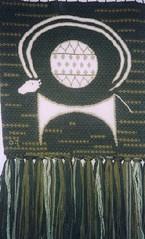 Aries (Meryetcrafts) Tags: verde green embroidery goat cabra artesana tapestry bordados tapices textilecraft artesanatextil