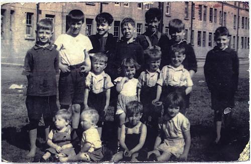 Barnes Street Gang, Ruchill, 1944.
