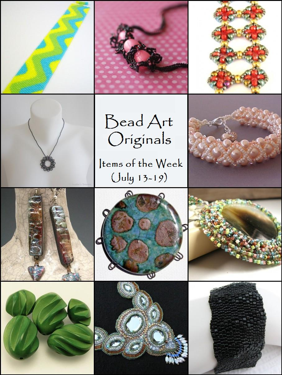 Bead Art Originals Items of the Week (July 13-19)