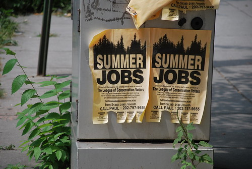 Summer jobs announcement