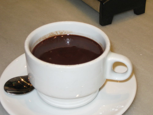 taza de chocolate