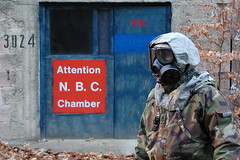 Attention NBC ! (crazyemt) Tags: usa america soldier army nbc us uniform mask military nuclear chamber abc biological soldat chemical militr warfare gasmaske