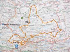 Bike route detail from Grossglockner (...smallred...) Tags: marmots grossglockner bikersnest biketriproadtripmotorcycletripholidayeurope2009