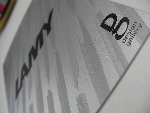 LAMY ドイツデザインの精緻