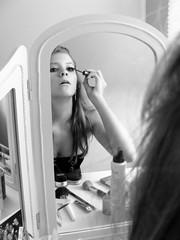 glamour (ooh la la its anna) Tags: girl hair model makeup glam mascara gettingready glamorous