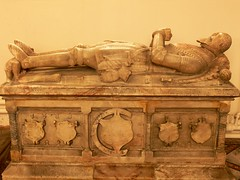 Effigy of Sir Michael Poulteney