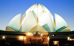 Lotus Temple, New Dehli, India