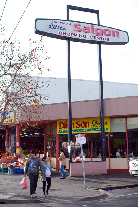 Dinh Son restaurant at Saigon Supermarket, Footscray