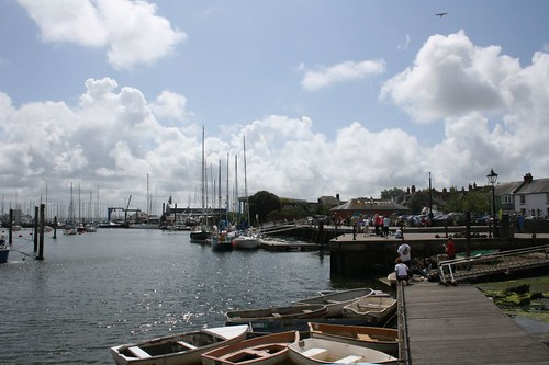 Hafen von Lymington