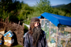 Rainbow gathering in Ukraine (Swiatoslaw Wojtkowiak) Tags: summer portrait rainbowgathering beard rainbow europe ukraine hippie dreadlock easterneurope ukraina carpathian 1804 ucraina  ukrajna ucrnia oekrane