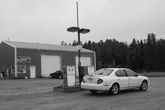 Gas on Alaska Highway